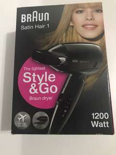 BRAND NEW Braun Satin Hair Dryer