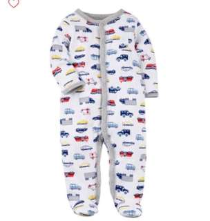 🚚 *6M* Brand New Carter's Sleep And Play For Baby Boy #CarouPay