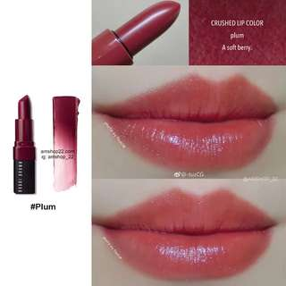 Bobbi brown crushed lip (Plum)