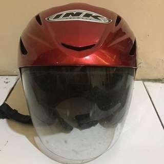 Helm INK Merah #kanopixcarousell