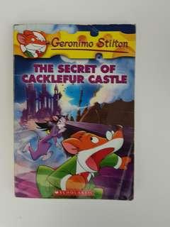 [Geronimo Stilton] #22: The Secret of Cacklefur Castle