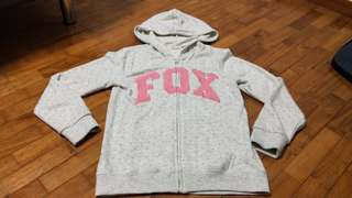 🚚 Fox Polka Dots Jacket For Young Girls