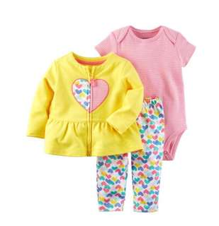 🚚 *18M* BN Carter's 3-Piece Little Jacket Set For Baby Girl #CarouPay