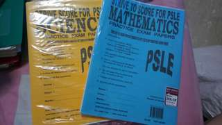 Psle exam math and science practice papers