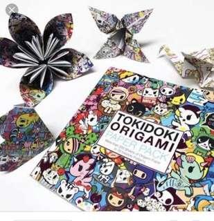 Tokidoki origami paper