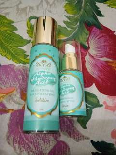 BEAUBLENDS TONER AND SERUM