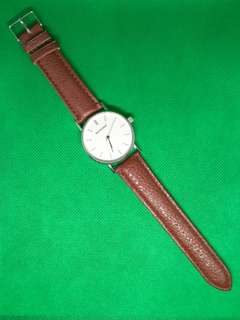 Sanwood Brown Leather Watch