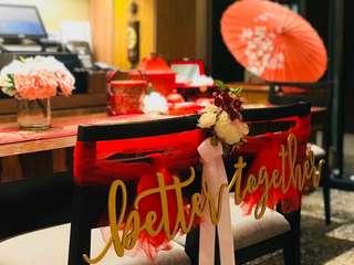 Oriental Wedding Theme