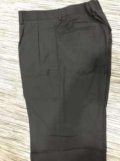 New men's business pants black size 32