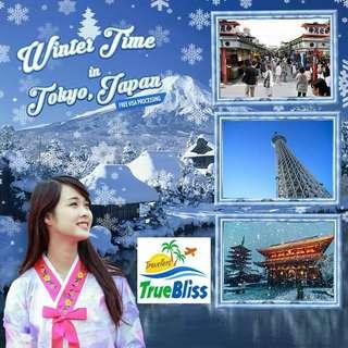 Winter Time in Tokyo Japan