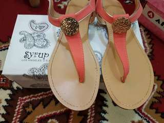 Syrup T-Strap Sandals