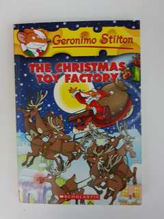 [Geronimo Stilton] #27: The Christmas Toy Factory