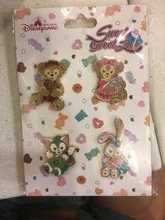 Disney pins trading 迪士尼徽章交換 Duffy shelliemay StellaLou