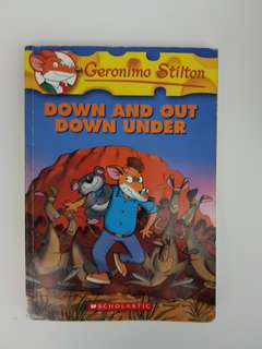 [Geronimo Stilton] #29: Down and out Down Under: