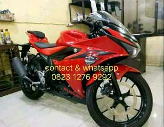 Suzuki GSX 150 th 2017 bisa kredit Dp 1.500