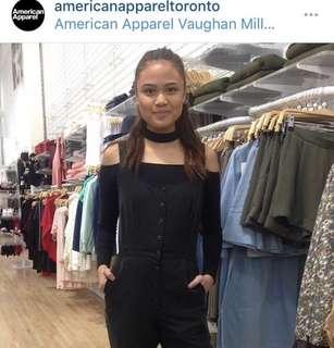 American apparel Frankie jumpsuit