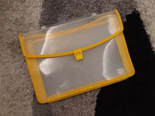 Yellow File Case