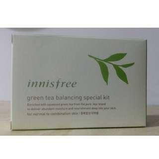 innisfree 綠茶水平衡護膚組(有中文標)