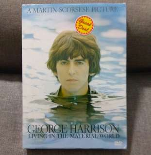 arthdvd GEORGE HARRISON (THE BEATLES) Living In The Material World - A Martin Scorsese Picture DVD