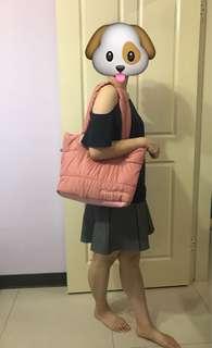 🚚 Miss Choice 防水粉色包包
