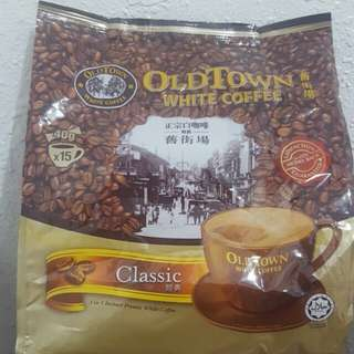 Malaysia Old Town White Coffee 3 in 1(40g X 15 Sachets) per pack