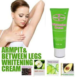 Underarm knee elbow whitening
