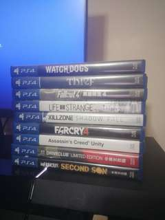 Used PS4 Games (Free Postage)