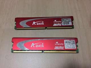 ADATA DDR2 800 RAM 2GBx2