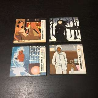 Winter Chill CDs - 4 x Double Disc Albums