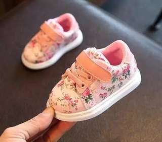 Baby Floral Sneakers [instock]