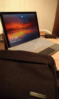 Surface Pro 4 + keyboard cover