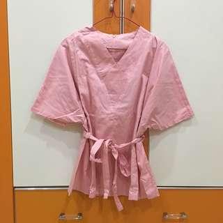 New! Kimono Top Pink