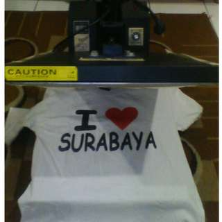 Mesin Hot Press (Mesin Sablon) Baju