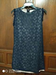 Fleur navy dress