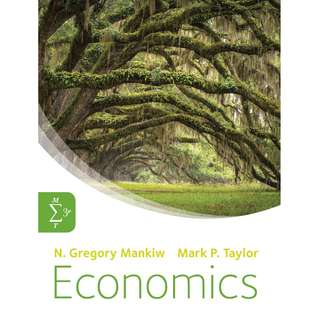 Economics 3rd Third Revised Edition by N. Gregory Mankiw, Mark P. Taylor - Cengage Learning
