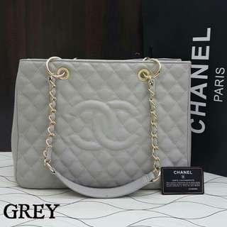 Chanel GST Caviar Grey
