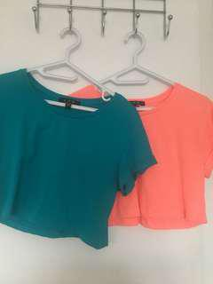 Cropped Top Size Small