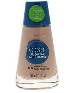 Cover Girl clean oil control anti-luisance 530 classic beige