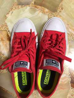 Converse Watermelon Red Chuck Talor II Sneakers Size 38/39 EU - Wore once