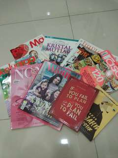 Magazines (Total variety of 9 copies)