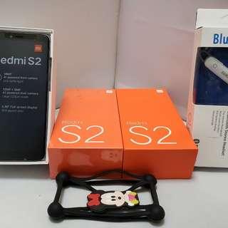 New Arrival,Redmi S2..5,99inch,32 gb Rom.3 gb Ram.Free bluetooh+rubber. 1year vendor's warranty