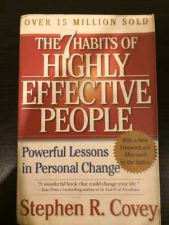 7 habits of highly effective people - Steven Covey