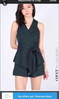 Love Bonito Covet Winola Wrap Playsuit