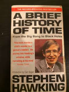 A brief history of time - Stephen Hawkings