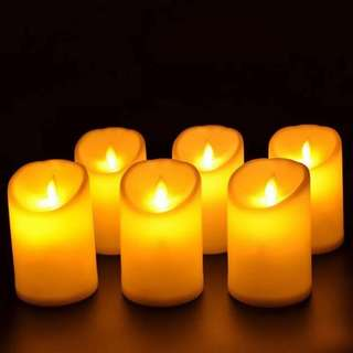 LED CANDLE 1 DOZEN