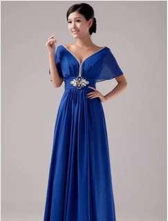 Dinner Gown,dinner dress, wedding evening gown (4XL)