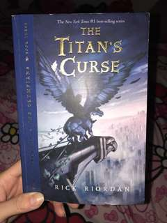 English - Percy Jackson - Titan's curse