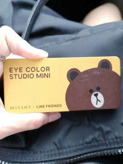 Missha brown limited eyeshadow