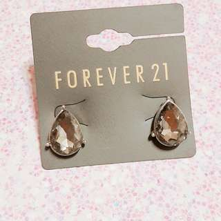 🚚 forever21水滴型耳環/耳釘