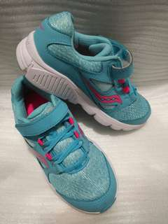 Authentic Saucony Kotaro 4 blue for girls